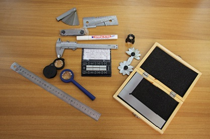 Комплект визуального контроля качества сварных соединений ВИК-1